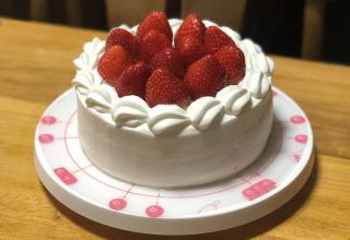 いちごのケーキ画像