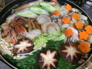 牡蠣鍋を作って食べました。画像