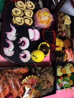 おせち料理に伊達巻となますを追加画像