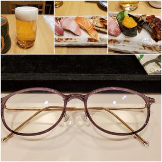 お眼鏡に叶う眼鏡を遂に購入画像