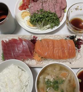 今日の夕飯(^^)画像