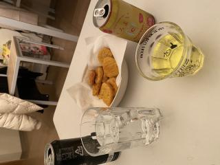 宅飲み〜!