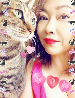 おばさまと猫(自虐・笑)画像