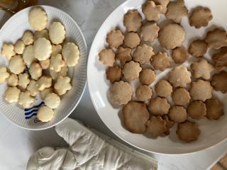 クッキー焼いた画像