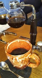 休日のカフェ画像