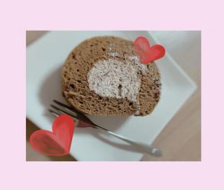 手作りロールケーキ☆彡画像