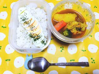 お昼に食べそこねたお弁当(´;ω;`)画像
