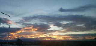 夕焼けきれー画像