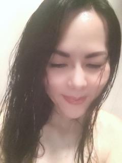 風呂あがり濡れ髪