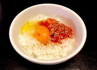 ももは卵かけご飯を手に入れた!レベルが1上がった!画像