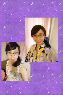 昔と今のメガネ画像