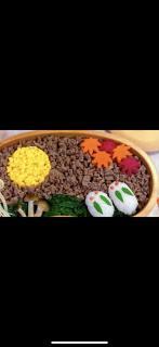 秋のお弁当🍁画像