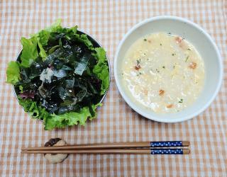 今日のお昼ご飯。画像