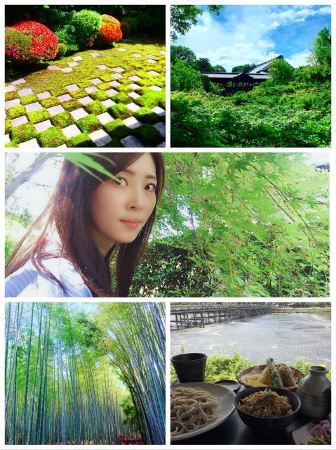 新緑の京都へ