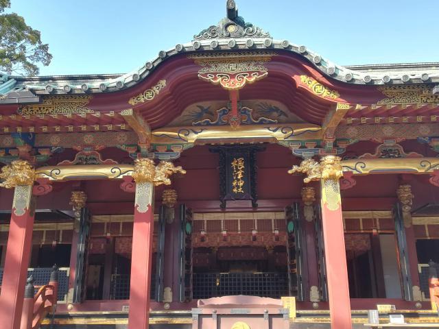 根津神社はどっちだかわかる?