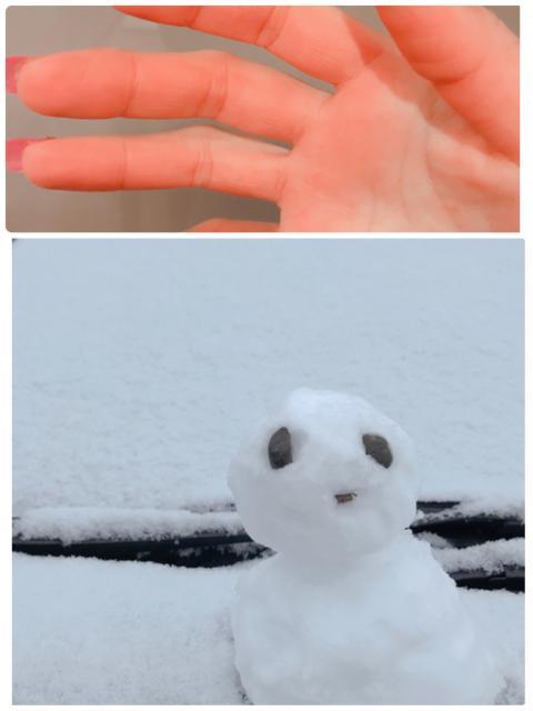 雪ってテンション上がります!