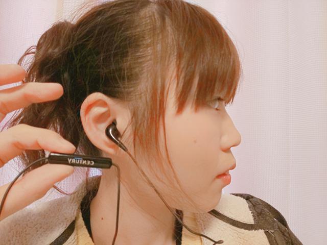 新しいイヤホンマイク〜(●︎´▽︎`●︎)