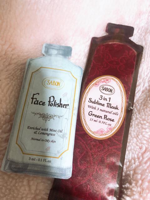 洗顔とヘアトリのサンプル