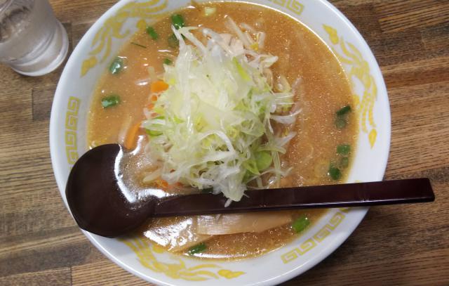 味噌ラーメン(^^)