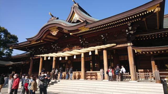 先日寒川神社にいきました。