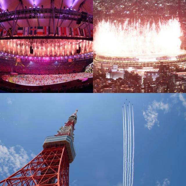 オリンピック開幕♬︎♡